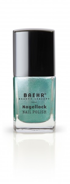 Nagellack green metallic