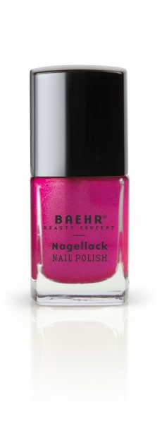 Nagellack happy pink metallic