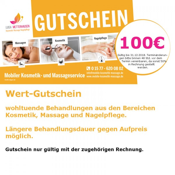 Massagegutschein Hamburg