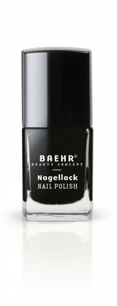 Nagellack medium black matt