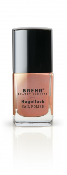 Nagellack light rose metallic