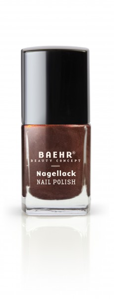 Nagellack copper brown metallic
