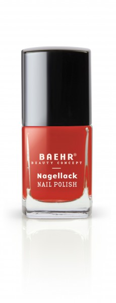 Nagellack transparent red pearl