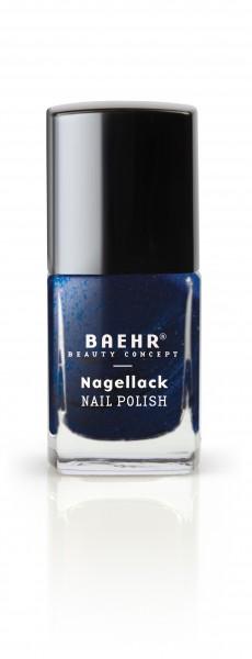 Nagellack deep blue pearl