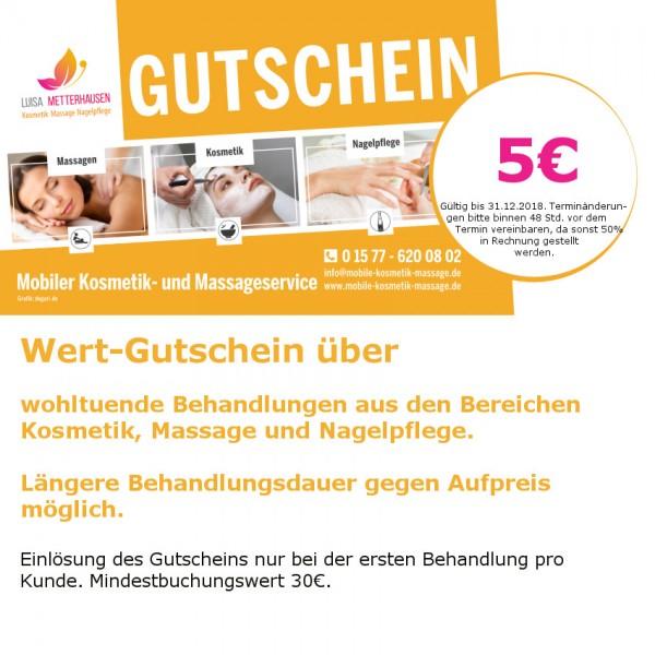 5-Euro Gutschein